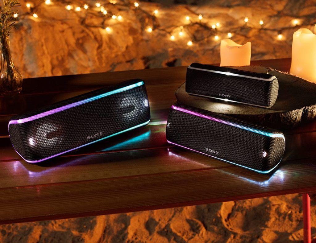 Sony Srs Xb41 Extra Bass Wireless Speaker Bluetooth Speaker Bluetooth Speakers Portable Speaker