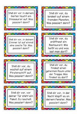 Ideen fürs freie Schreiben | niemiecki | Pinterest | Deutsch, School ...