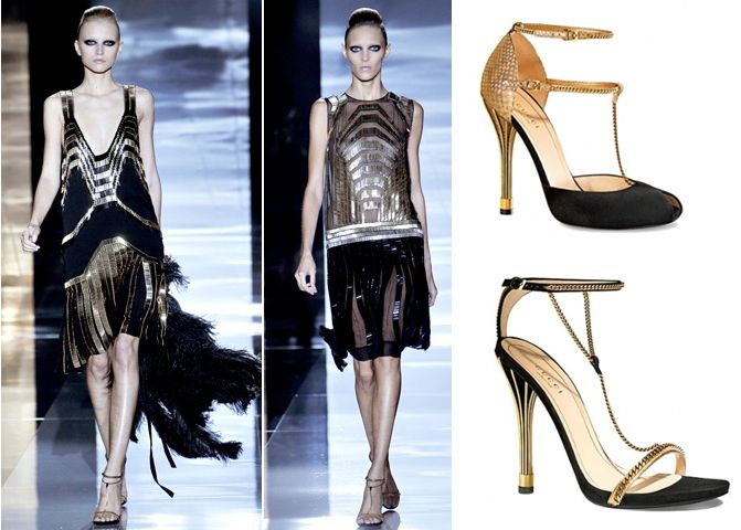 Fashion inspired by Art deco: Gucci ss2012   http://www.emodno.com/?p=55588