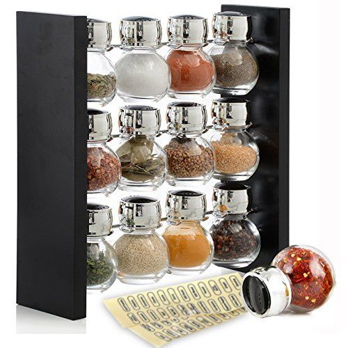 Organic Spice Rack Prepossessing Amazon Gneiss Spice Everything Spice Kit 24 Magnetic Jars Design Decoration