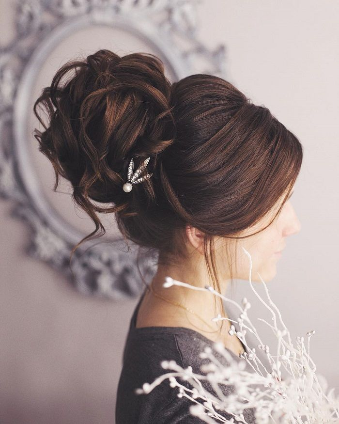Rustic Wedding Hairstyles: 36 Messy Wedding Hair Updos For A Gorgeous Rustic Country