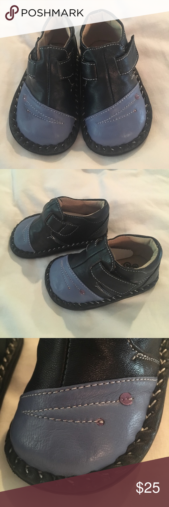 See Kai Run shoes Brand new, never worn shoes. Velcro closure. Fun, embroidered detail. See Kai Run Shoes Baby & Walker