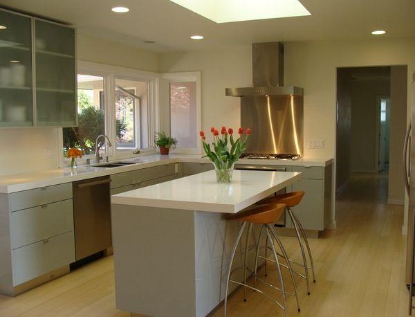 13 Contoh Kabinet Dapur Moden Terkini Grey Kitchen Designs Kitchen Design Simple Kitchen