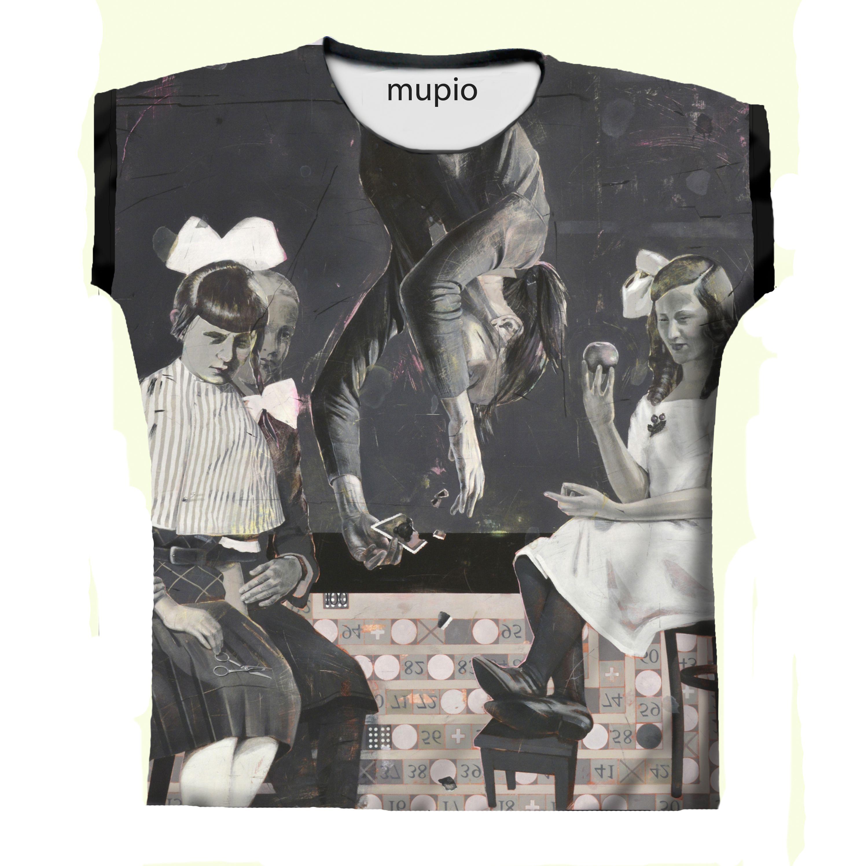 printed T-shirt Mupio by Artysta i Sztuka Available here: mupio.pl/ designer: Ewa Skaper #mupio #skaper