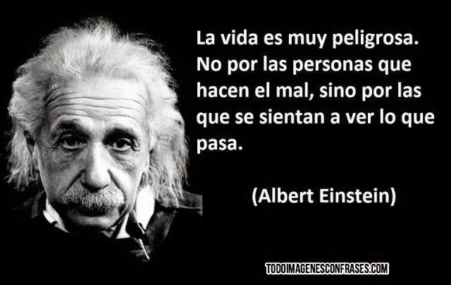 29 Frases De Albert Einstein Un Grande Einstein Citas