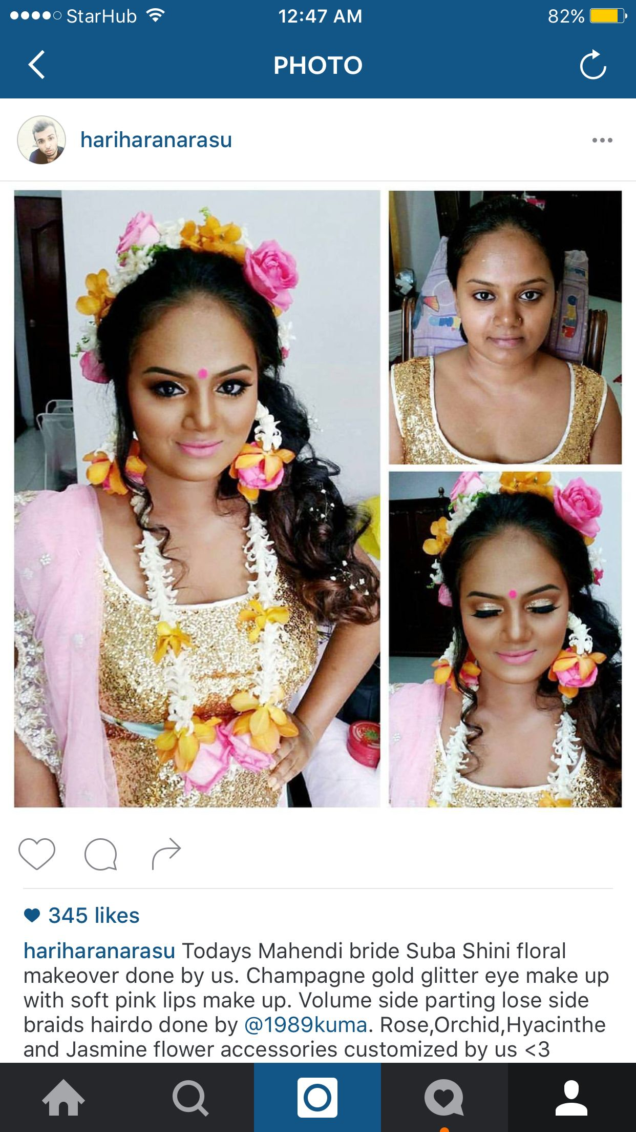 Follow on Instagram @hariharanarasu great makeup artist. Lucky brides Indian Makeup, Bridal Makeup