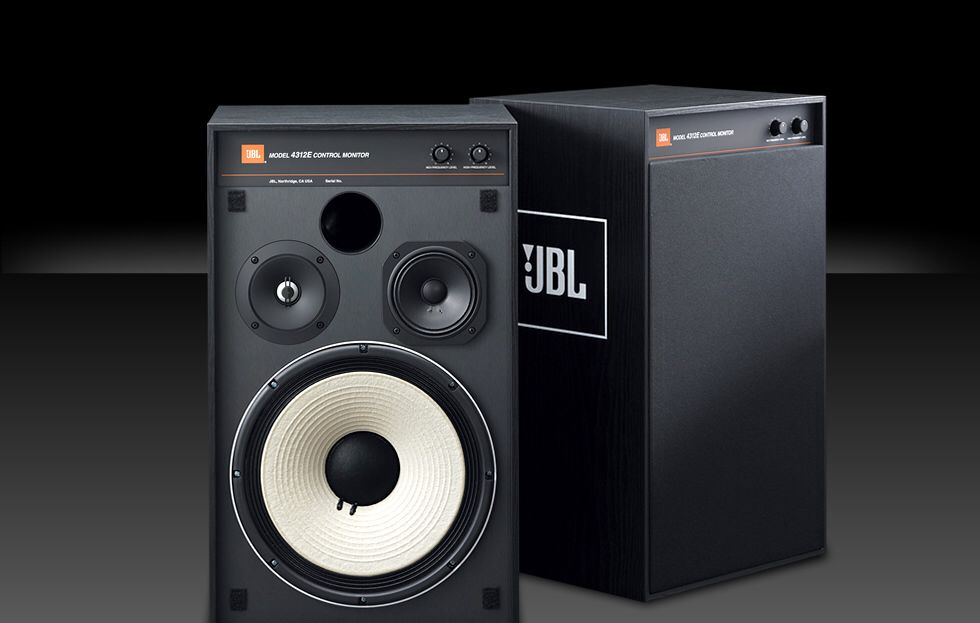 Jbl 4312 E Not Vintage But The Only Modern Version Of The Classic Jbl 100 Still Being Sold Today They Even Have The Classic Pape Jbl Audio Equipment Speaker