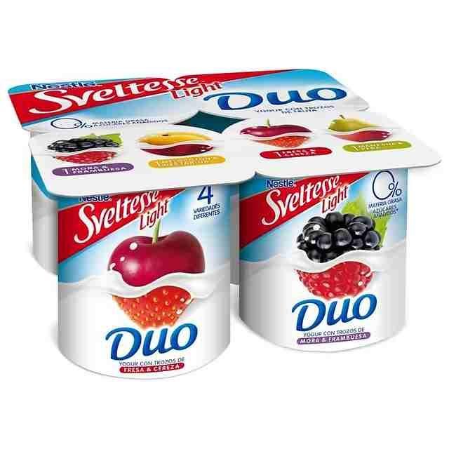 Nestle Sveltesse Light Duo Yogurt With Images Yogurt Packaging