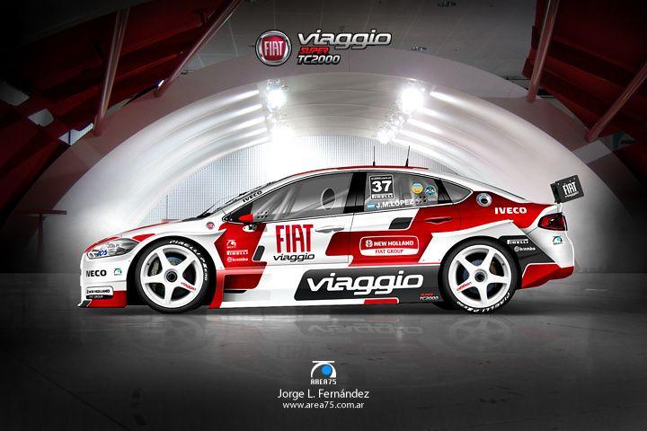 Diseño Super TC2000 - TC2000 - TN - Top Race - TC Turismo