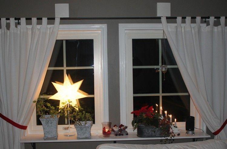 dekorative blument pfe mit pflanzen und leuchteter stern weihnachtsdeko pinterest. Black Bedroom Furniture Sets. Home Design Ideas