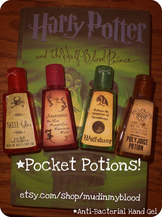 Harry Potter Hand Sanitizer With Images Harry Potter Obsession