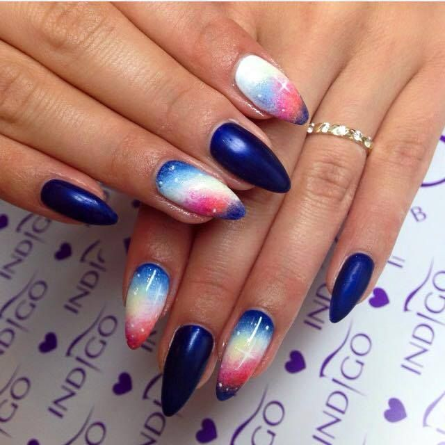Gelaxy Gel Nail Polish: By Ania Leśniewska Indigo Educator :) Follow Us On