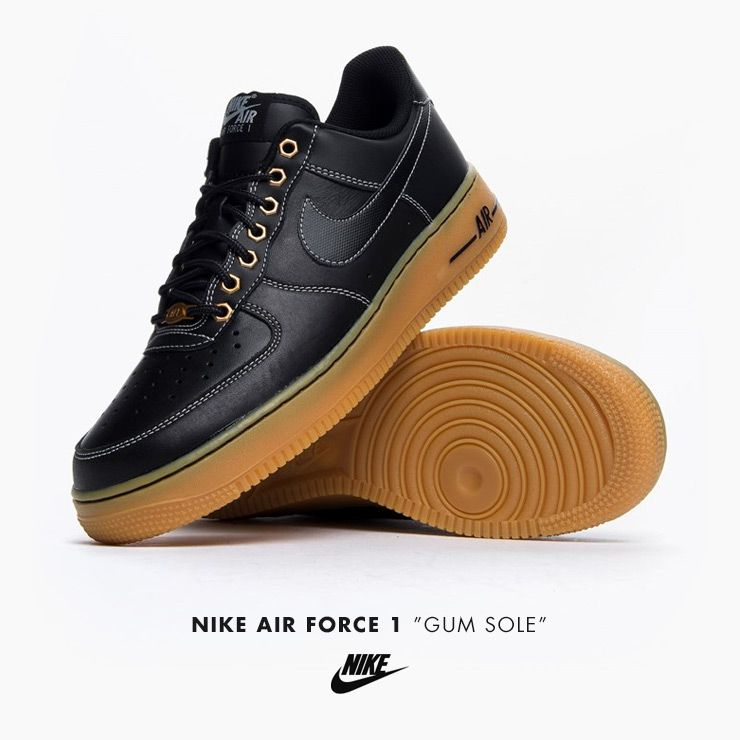 low priced 5bc43 edeac Nike Air Force 1 Gum Sole