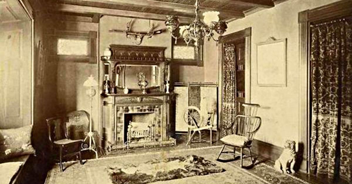 A Rare Look Inside Victorian Houses From The 1800s 13 Photos
