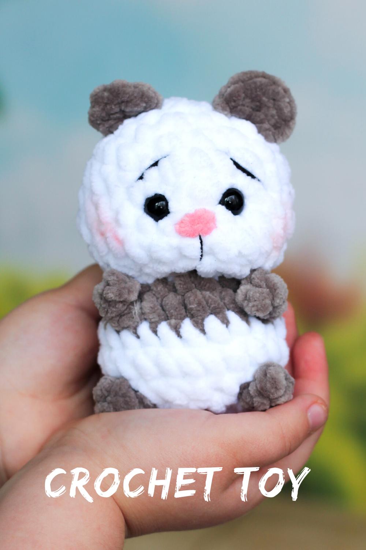 Amigurumi Panda Yapılışı   Kolay Örgüler   1500x1000