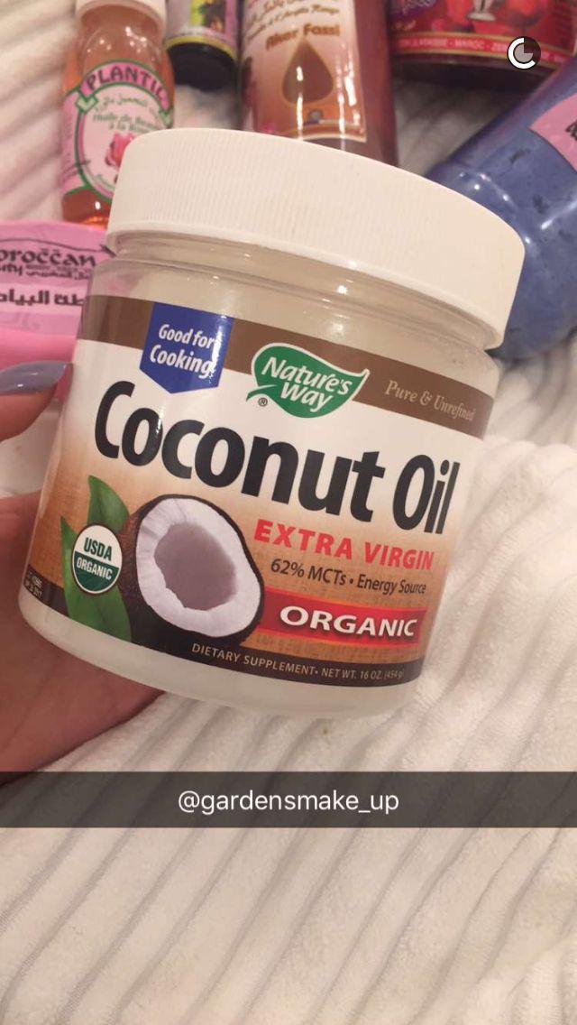 يستخدم للجسم والشعر والبشره Usda Organic Coconut Oil Usda