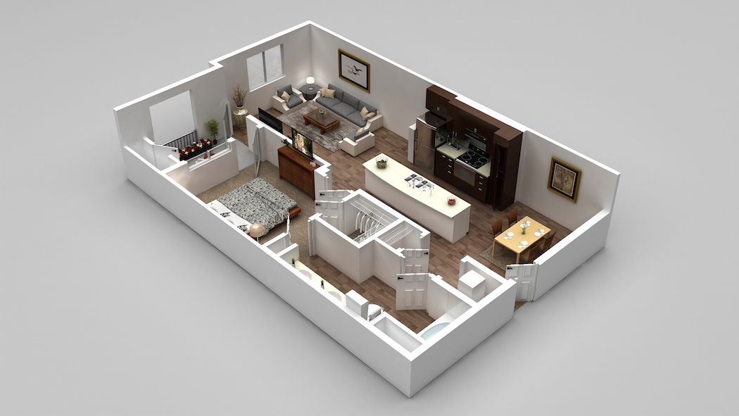 Our A2 Floorplan 678 786 Square Feet Floor Plans Luxury Apartments Apartments For Rent