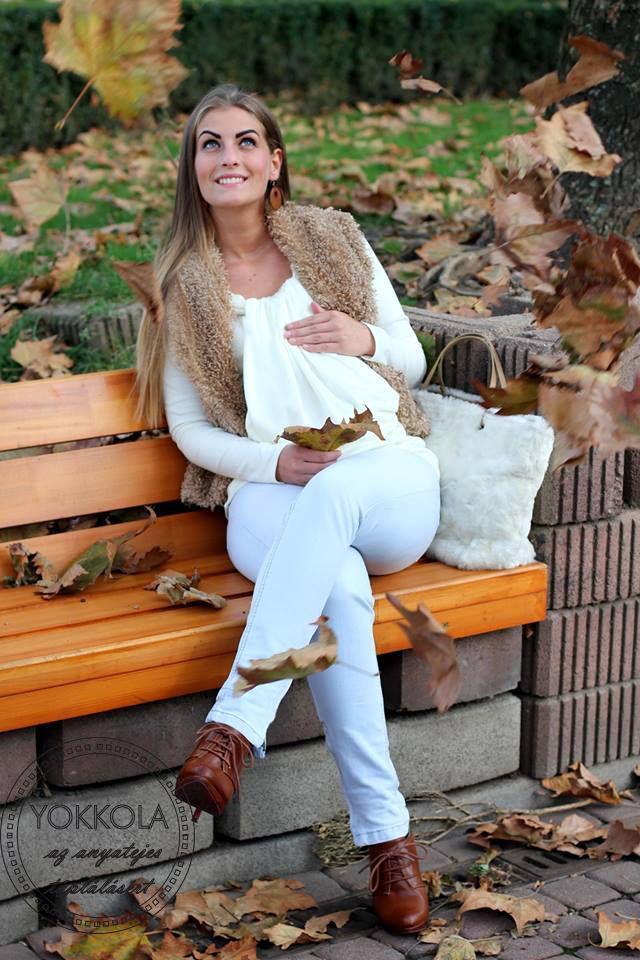 f060fee0e9 A szoptatás időszakában is csinosan! | YOKKOLA, nursing tops ...