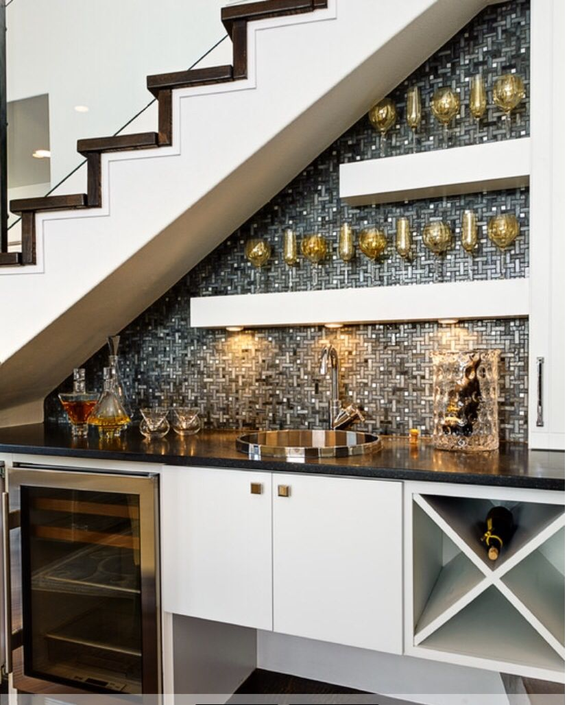 nice kitchen bar under stairs bars for home under stairs on kitchen under stairs id=86667