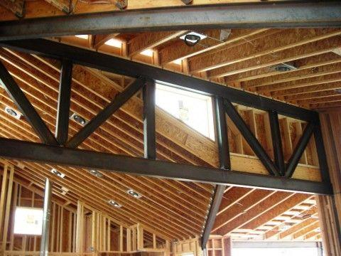 Steel Truss 1 Steel Trusses Roof Truss Design Roof Styles