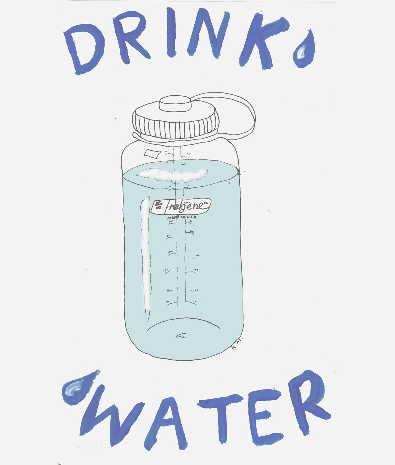 Drink More Water Tumblr
