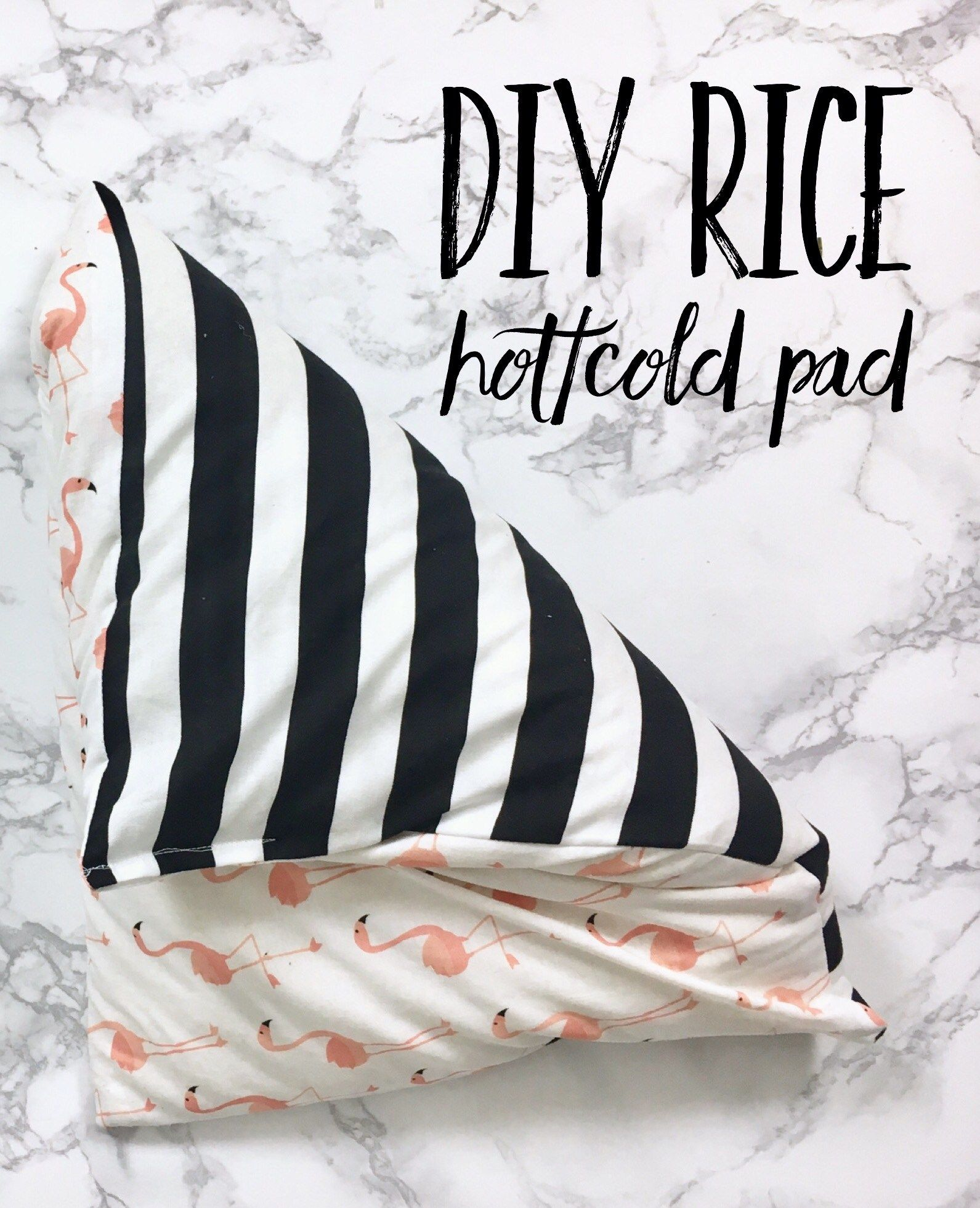 Diy Rice Hotcold Pad A Diy Group Board Pinterest Rice Heating