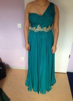 Wunderschones Turkises Abendkleid Abendkleid Kleider Abschlusskleid