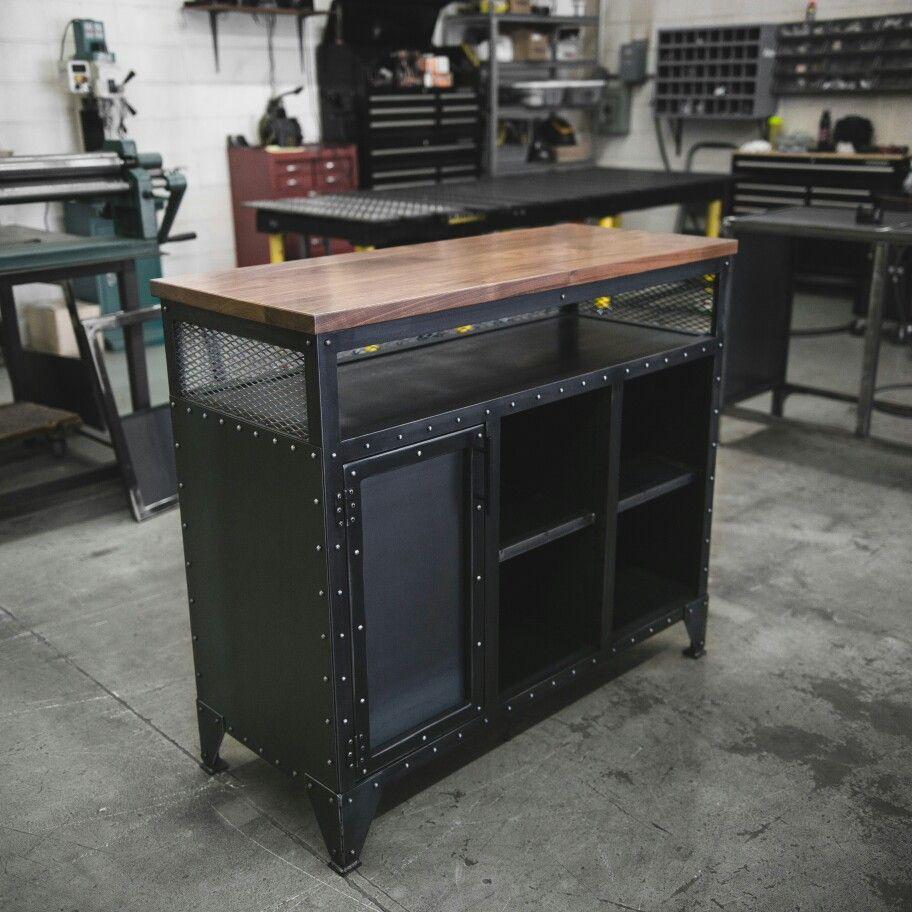 Best Built Furniture: Modern Industrial Original Hostess Stand Built And