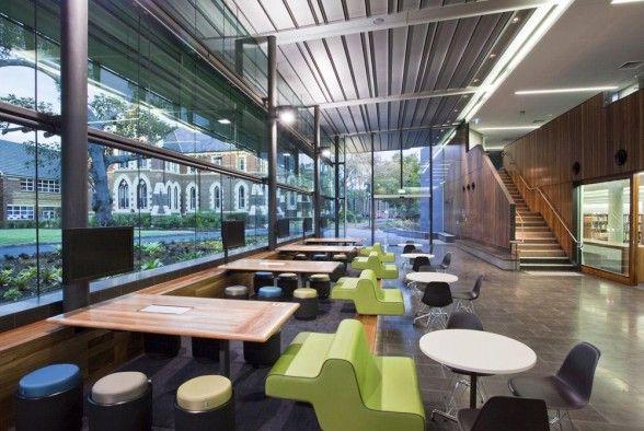 Interior Press The Lilley Centre Brisbane Grammar School Design Cafeteria