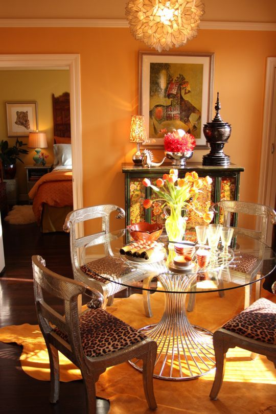 Claudia S Cosmopolitan Co Op Decor Decorating Your Home Dinning Room