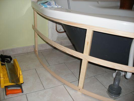 comment habiller une baignoire d 39 angle 31 messages deco pinterest. Black Bedroom Furniture Sets. Home Design Ideas