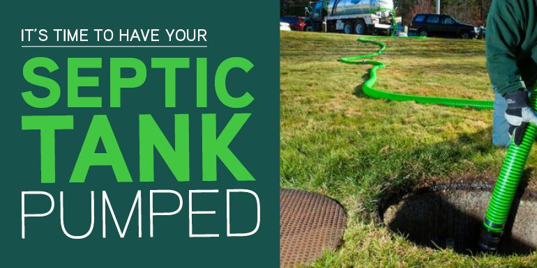 Its time to have your septic tank pumped septic tank