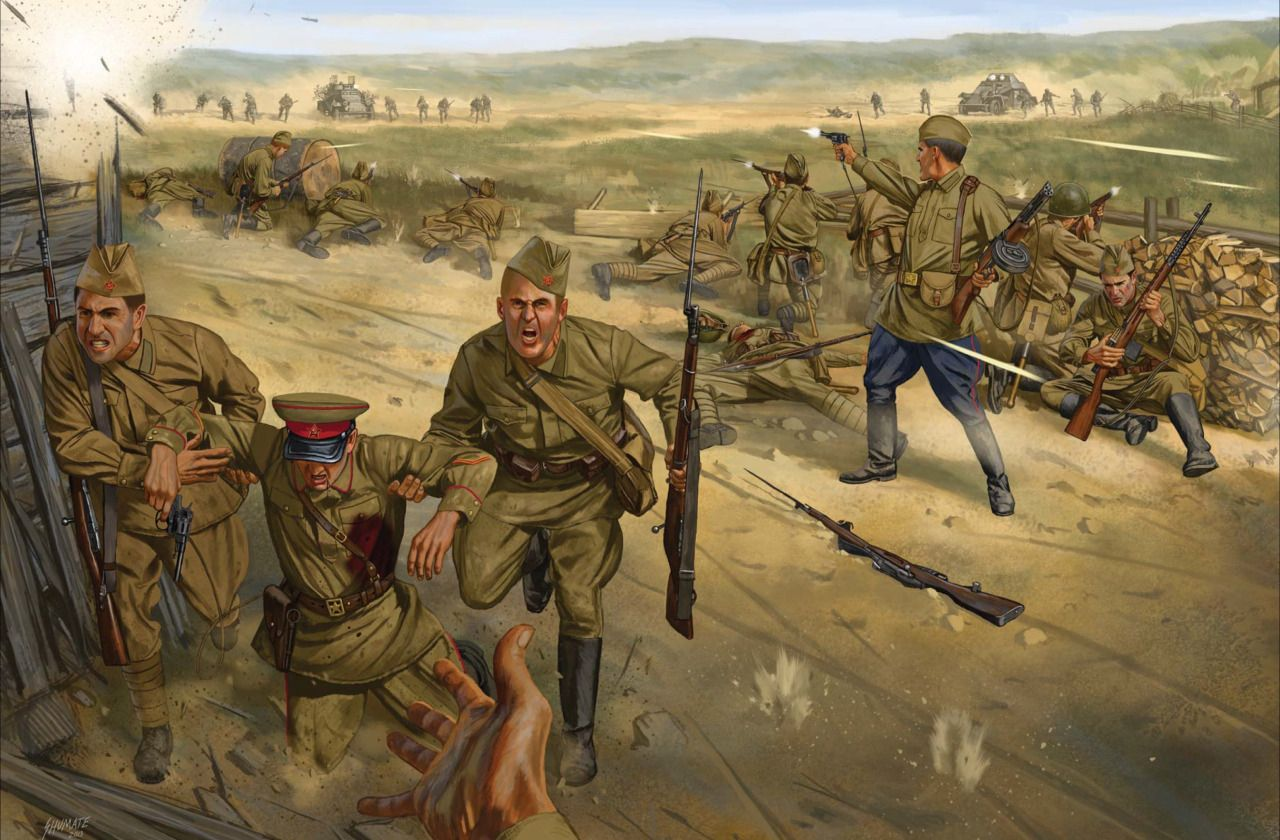 The WWII Miniatures Showcase: Soviet Forces