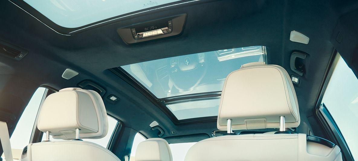 Panorama glass roof on the new BMW X7 Bmw x7, Bmw, Bmw