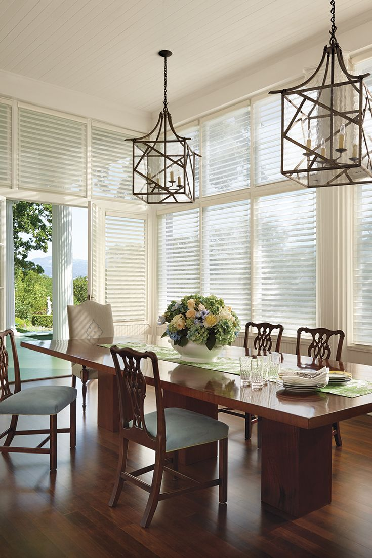Guests Always Comment On My Hunter Douglas Window Fashions Their Light Transforming Qualities Set The Stage For Every Gathering By Creating That Special