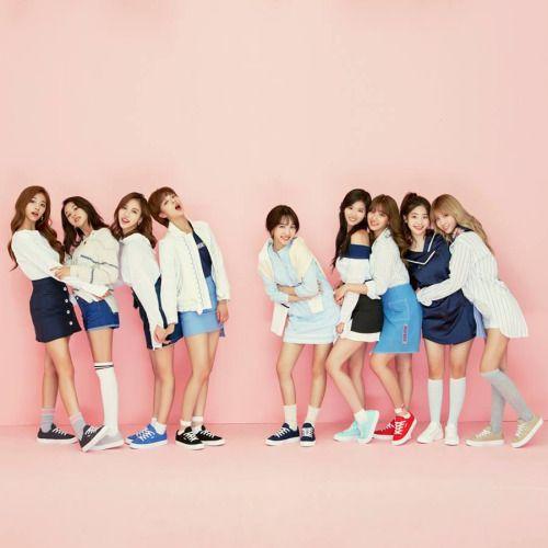 Girl group TWICE