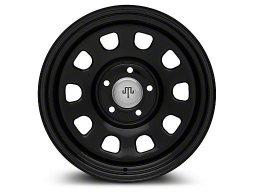 Mammoth Jeep Wrangler D Window Black Steel Wheel 17x9 J102798 07 18 Jeep Wrangler Jk Black Steel Wheels Black Steel Steel Wheels