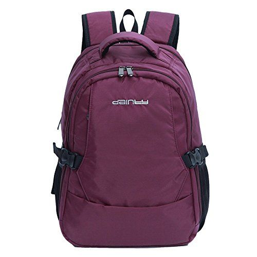 ad0faf96921 Bebamour Travel Backpack Waterproof Baby Diaper Bag Backpack (Purple ...
