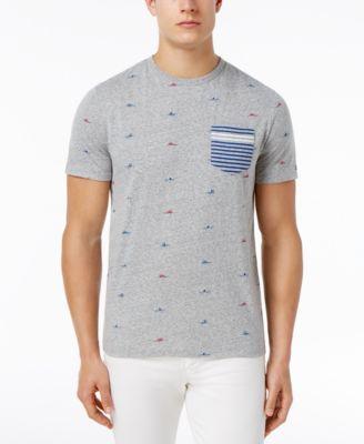 TOMMY HILFIGER Tommy Hilfiger Men'S Graphic Print T-Shirt. #tommyhilfiger #cloth #shirts
