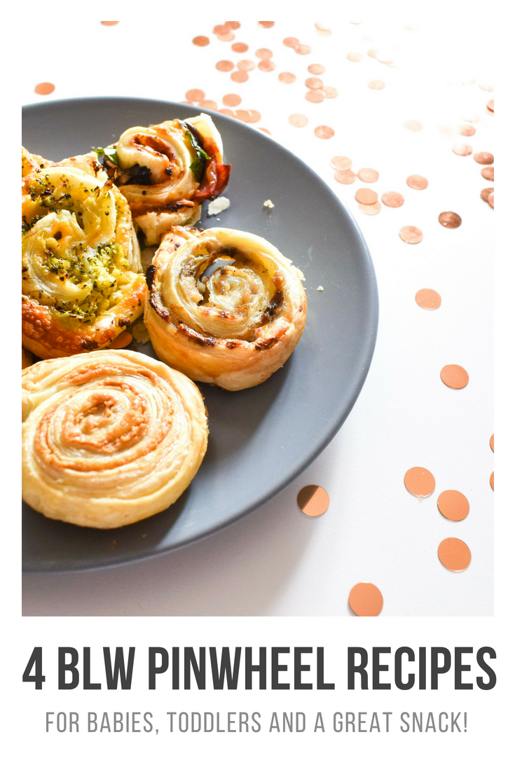 Four baby led weaning pinwheels recipes - Oh Luna - Parenting, lifestyle and beauty blog.