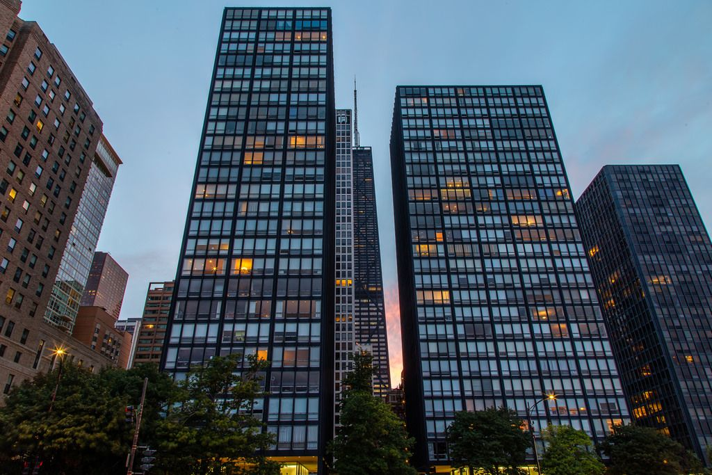 Architecture 860 880 Lake Shore Drive Apartments Chicago By Mies Van Der Rohe 1951 Oc 5457x3638 Lake Shore Drive Mies Van Der Rohe Lakeshore