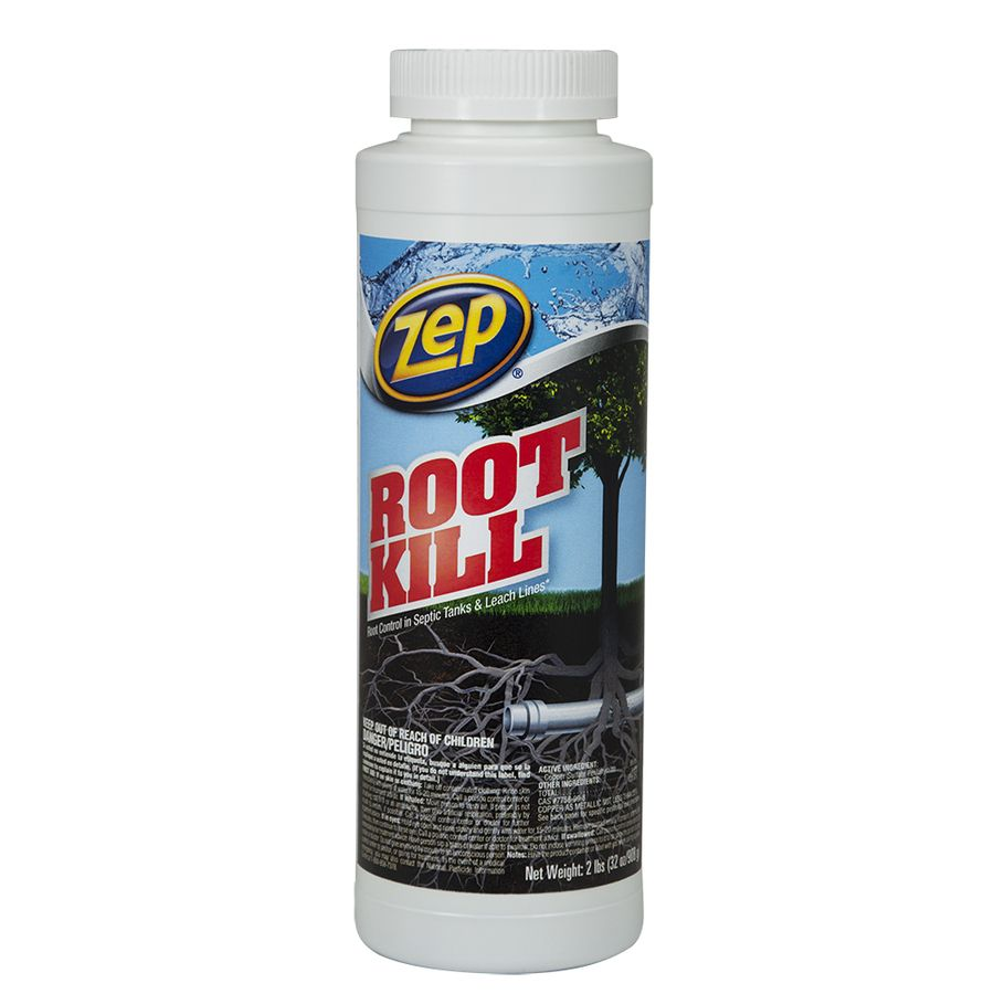 For The Bathtub Zep Commercial Root Kill 32 Oz Drain Cleaner