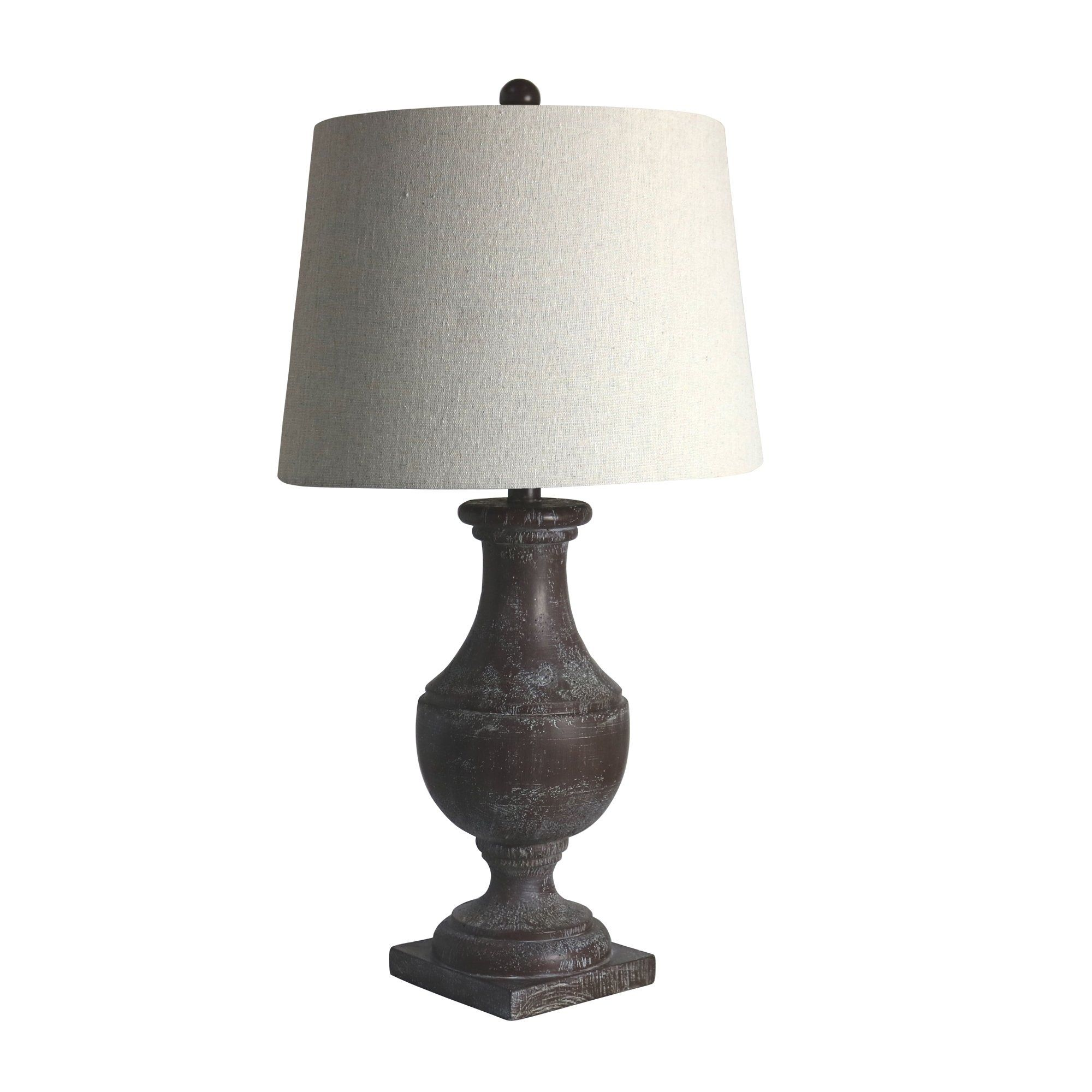 Fangio Lighting's 6265BRZ 28 in. Classic Urn On Square