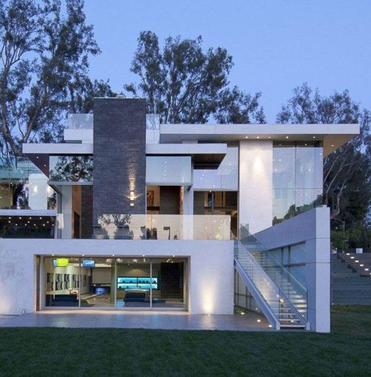 Casa stupenda dal design moderno case da sogno for Piccole case dal design moderno