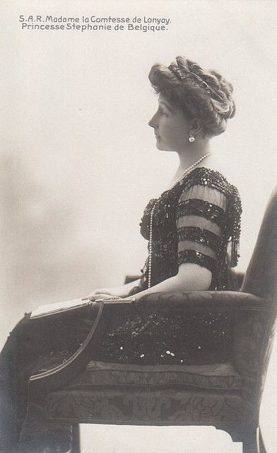 Kronprinzessin Stephanie von  Österreich, nee Princess of Belgium , later Princess Llonyay