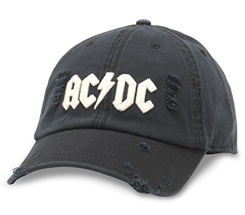 f0977cb00f5 American Needle American Neddle ACDC Shred Slouch Hat in Black ...