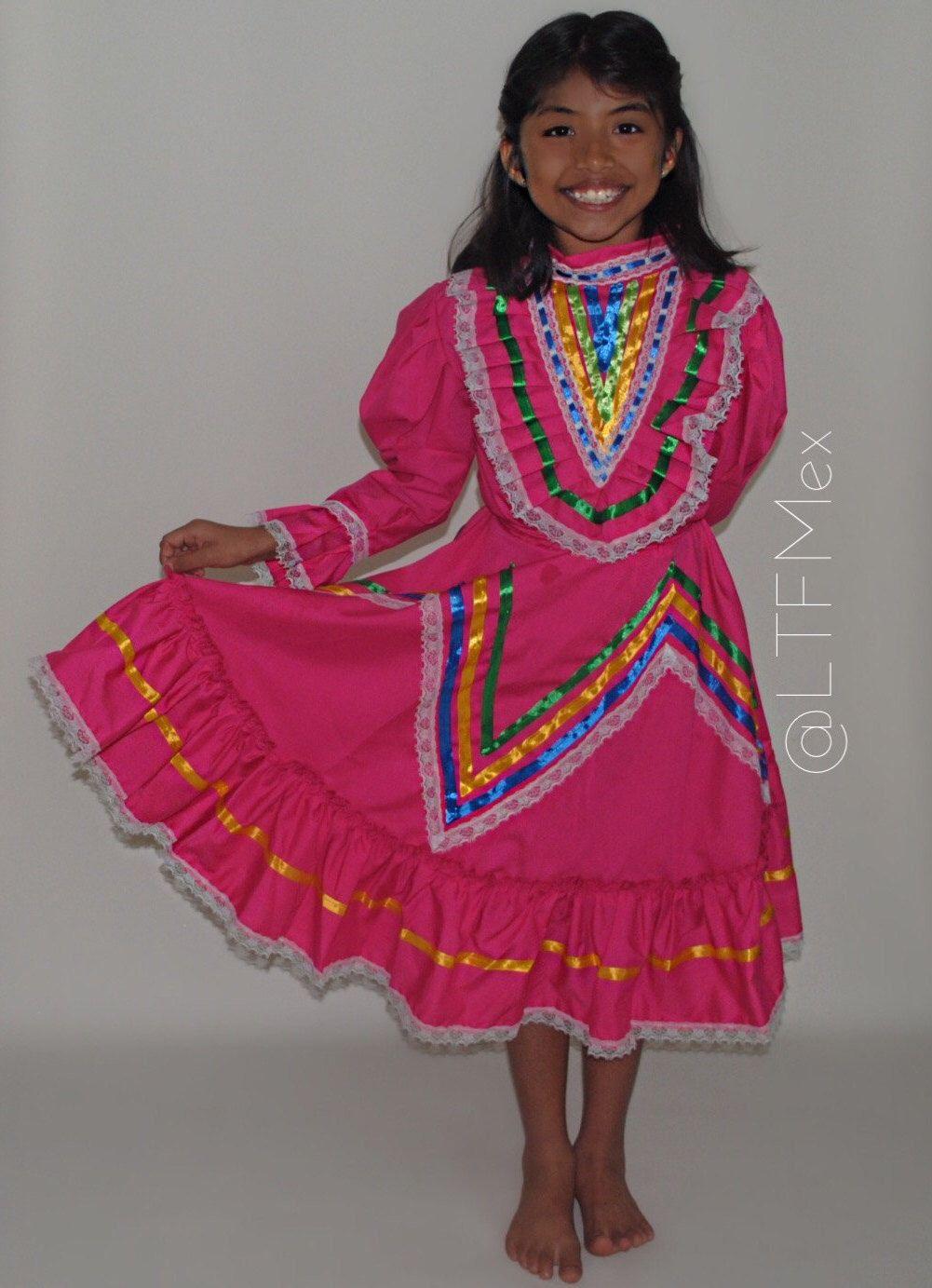 Blue Jalisco Dress Pink Jalisco Dress Vestido De Jalisco
