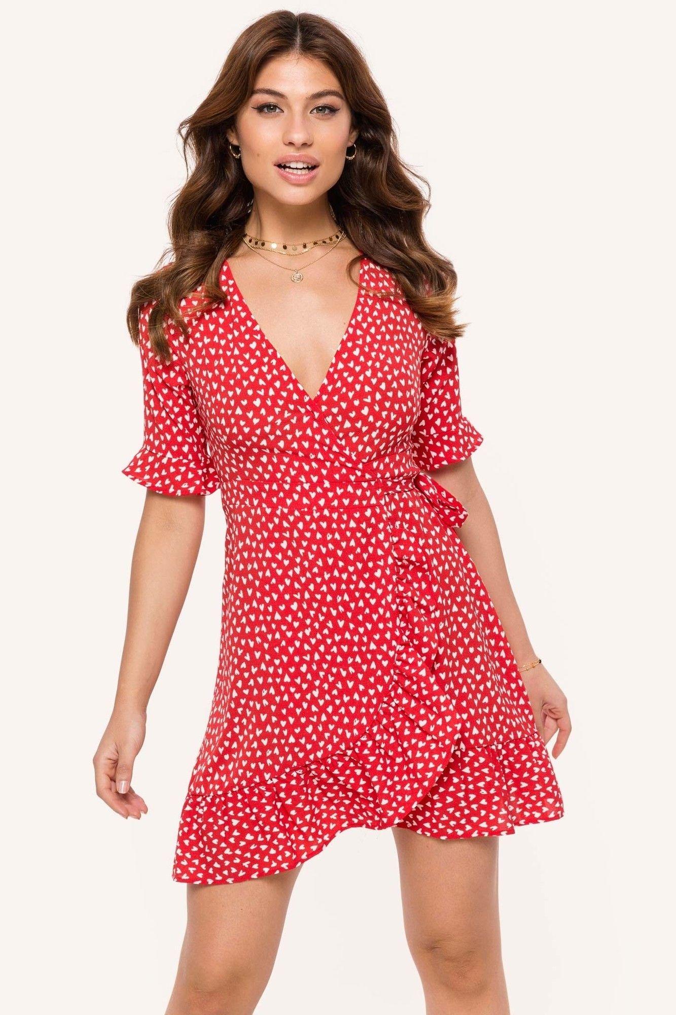 e0f075ca Loavies rode jurk | Fashion Webshop LOAVIES | skirt | Rode jurk ...