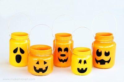 Pumpkin Jars