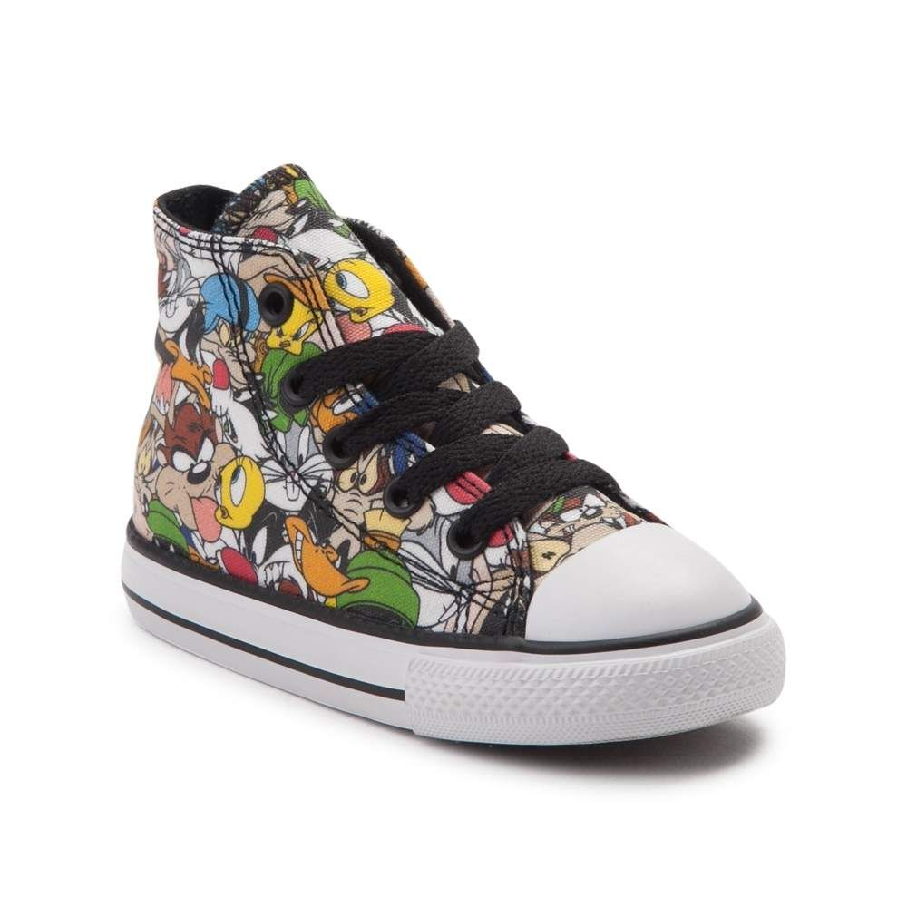 8113be85ae1e Toddler Converse Chuck Taylor All Star Hi Looney Tunes Sneaker ...